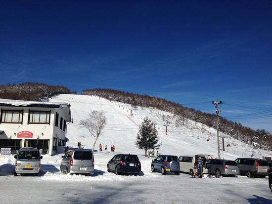雪質が良くて中級者の練習に最適なホームゲレンデ|湯の丸スキー場のクチコミ画像
