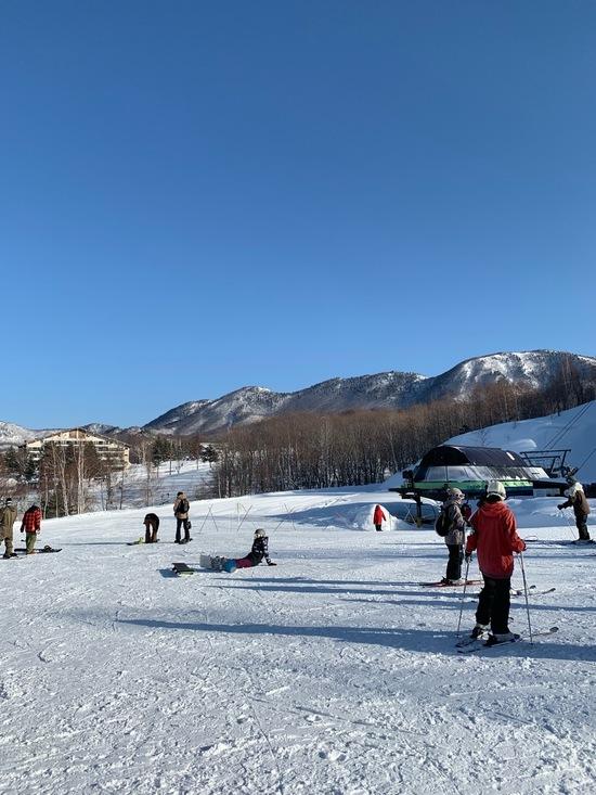 晴れて気持ち良く滑れました!|会津高原たかつえスキー場のクチコミ画像