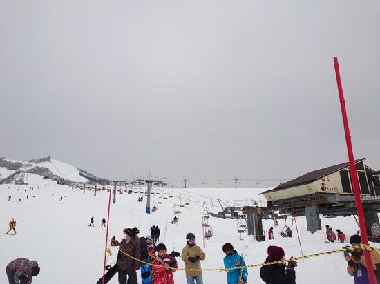 ポールバーンありました|岩原スキー場のクチコミ画像