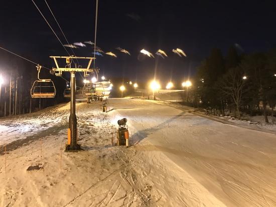 雪が降らない・・・|鷲ヶ岳スキー場のクチコミ画像