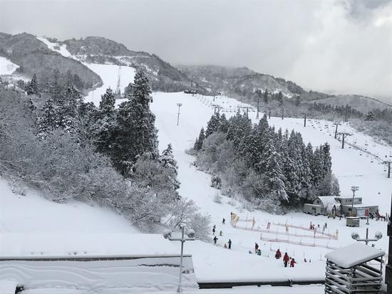 4日はびっくり、5日からは積雪してきました。 上越国際スキー場のクチコミ画像