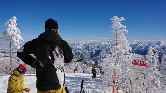 滑り初め!|かぐらスキー場のクチコミ画像