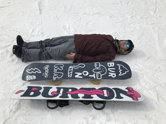 板が3本|石打丸山スキー場のクチコミ画像