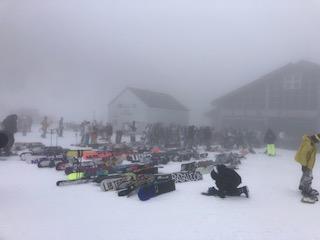スノボ向きのコースではないのだけどスノボ率高い|川場スキー場のクチコミ画像2