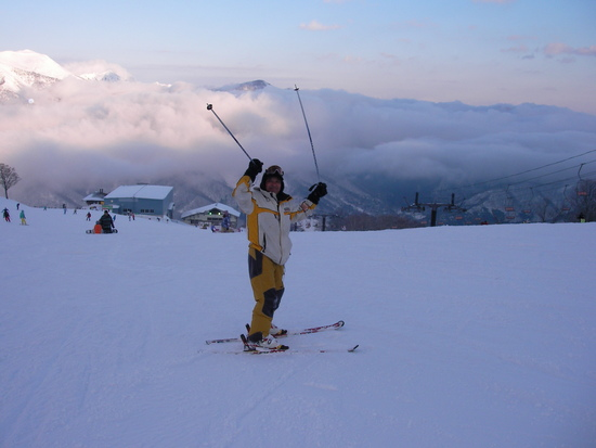 年明けは雪不足だったけど|苗場スキー場のクチコミ画像