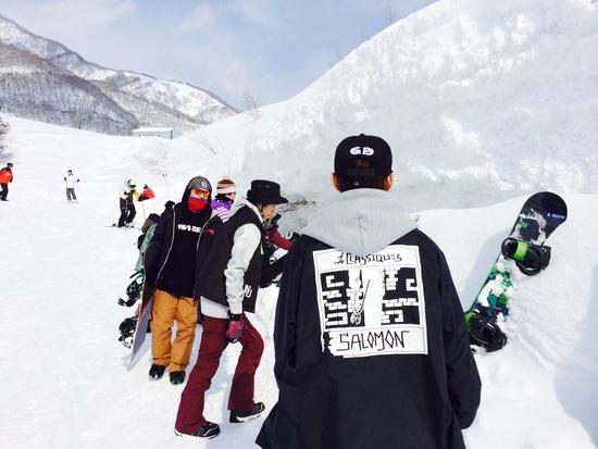 最高の雪質と幅の広いバーン|栂池高原スキー場のクチコミ画像
