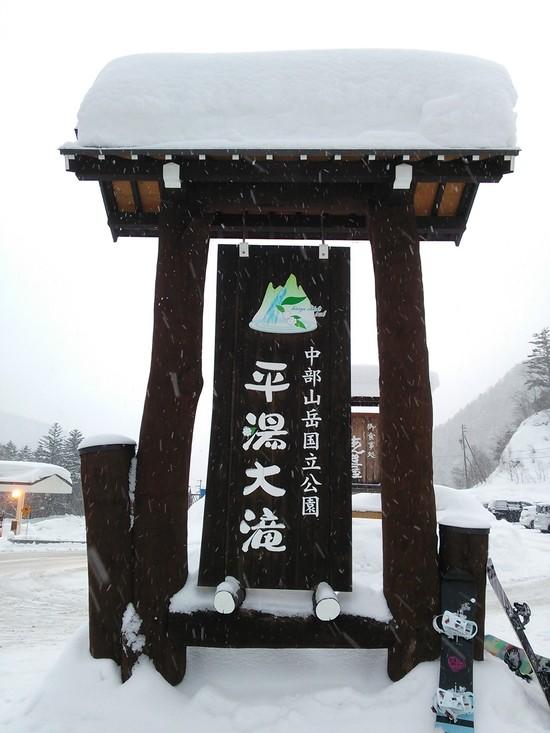 天然パウダー|平湯温泉スキー場のクチコミ画像1