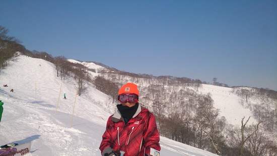親子2人で初スキー!