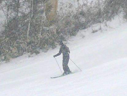 視界悪し。|信州松本 野麦峠スキー場のクチコミ画像