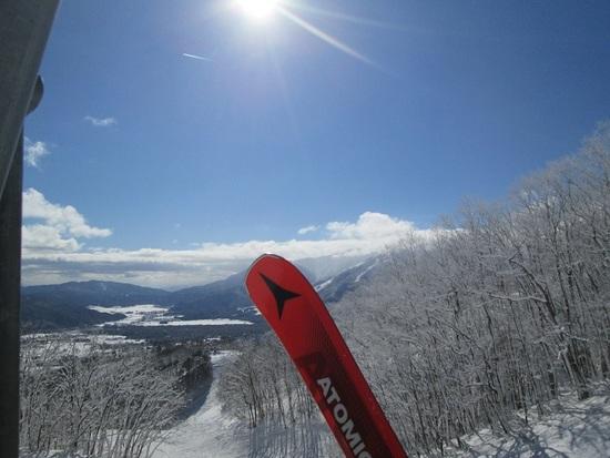 リフトからの絶景|白馬岩岳スノーフィールドのクチコミ画像