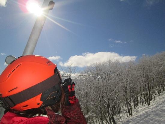 リフトからの絶景|白馬岩岳スノーフィールドのクチコミ画像3