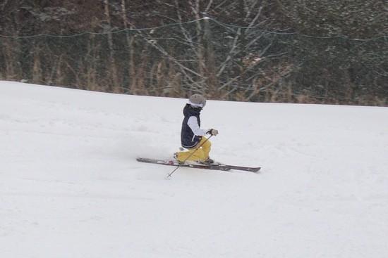吹雪とガスと|信州松本 野麦峠スキー場のクチコミ画像