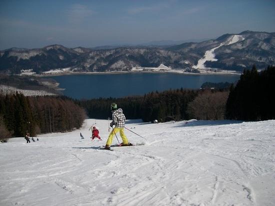 青木湖復活望む|白馬さのさかスキー場のクチコミ画像