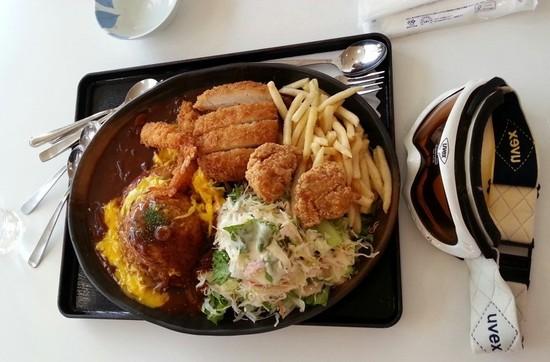 恐るべしギガトンプレート|軽井沢プリンスホテルスキー場のクチコミ画像