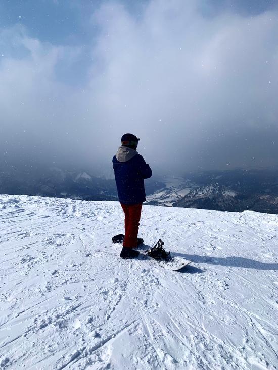 伝上山から見渡す景色|会津高原南郷スキー場のクチコミ画像