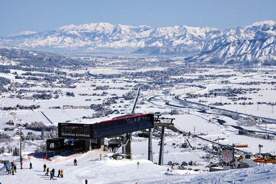 絶景を望むスキー場|石打丸山スキー場のクチコミ画像