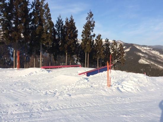 パークとパウダーエリアが面白い 福井和泉スキー場のクチコミ画像2