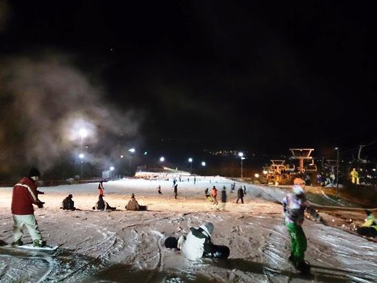11/30ナイター滑走 フジヤマ スノーリゾート イエティのクチコミ画像