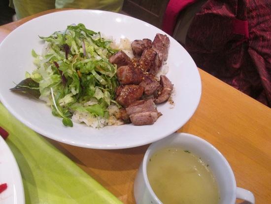 野沢菜ステーキランチ(野沢温泉)|野沢温泉スキー場のクチコミ画像