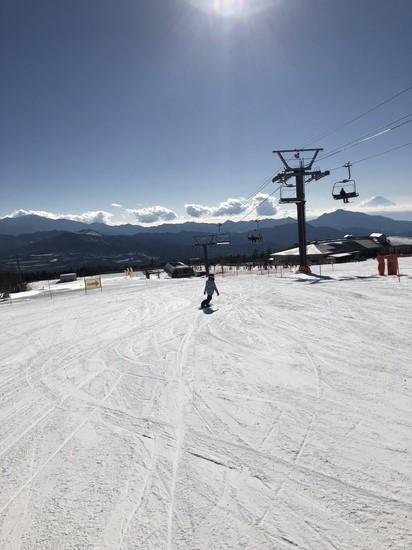晴天|サンメドウズ清里スキー場のクチコミ画像