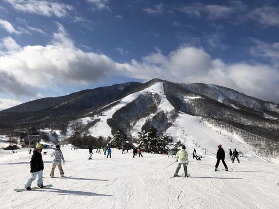 天気、雪質最高!|斑尾高原スキー場のクチコミ画像