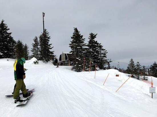 晴れれば最高|奥志賀高原スキー場のクチコミ画像1