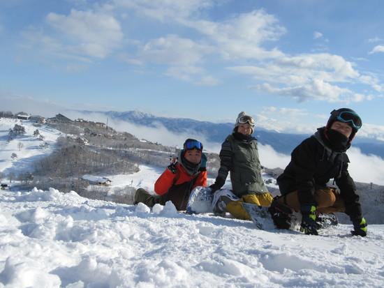 今年は雪が、、、|斑尾高原スキー場のクチコミ画像