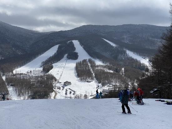 雪質はまあまあ|湯の丸スキー場のクチコミ画像1