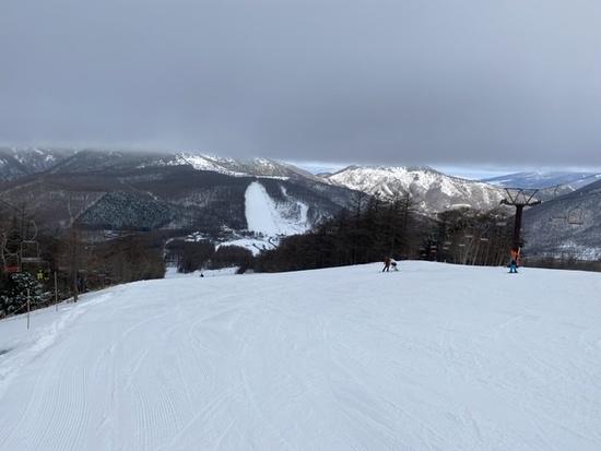 雪質はまあまあ|湯の丸スキー場のクチコミ画像2