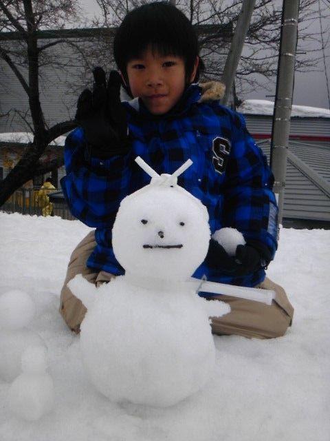 子怪獣スノーボードデビュー|アップかんなべのクチコミ画像