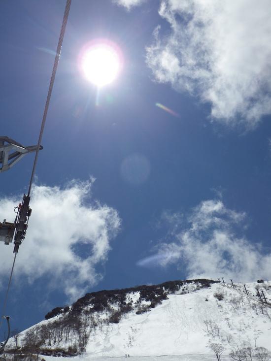 山頂からの景色がすばらしー|谷川岳天神平スキー場のクチコミ画像