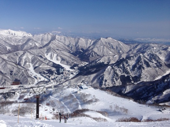 絶景|苗場スキー場のクチコミ画像
