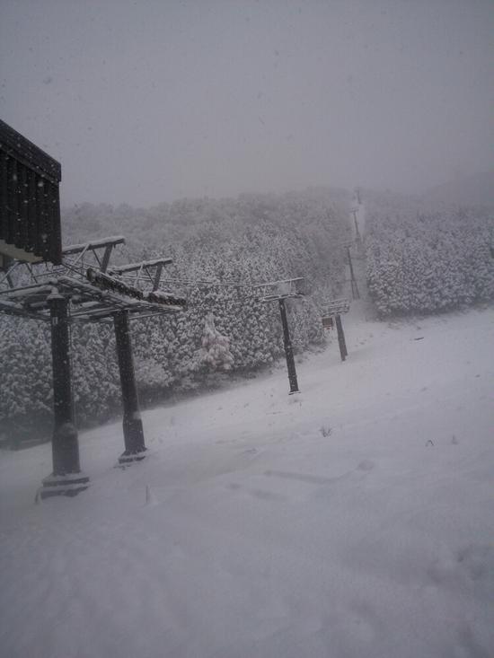 初滑り|野沢温泉スキー場のクチコミ画像