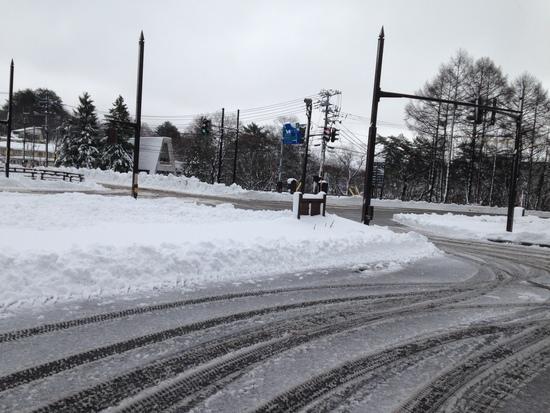 雪道注意|グランデコスノーリゾートのクチコミ画像