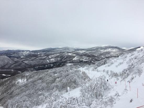 磐梯山と樹氷とパウダースノー|箕輪スキー場のクチコミ画像2