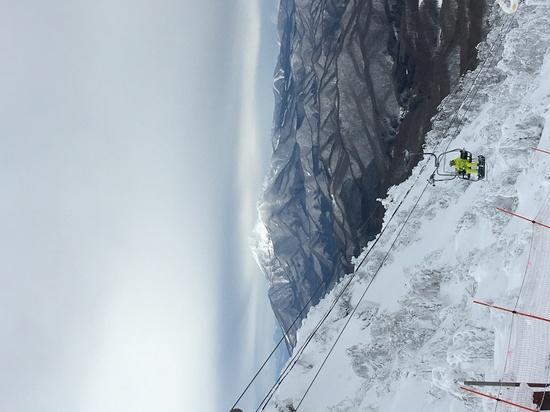 磐梯山と樹氷とパウダースノー|箕輪スキー場のクチコミ画像3