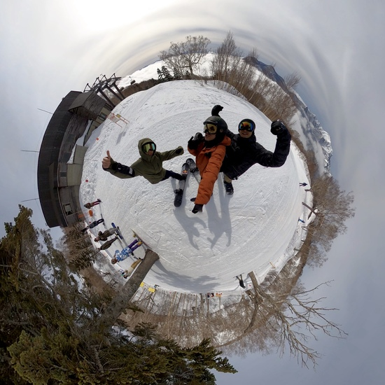 雨から一変|妙高杉ノ原スキー場のクチコミ画像1