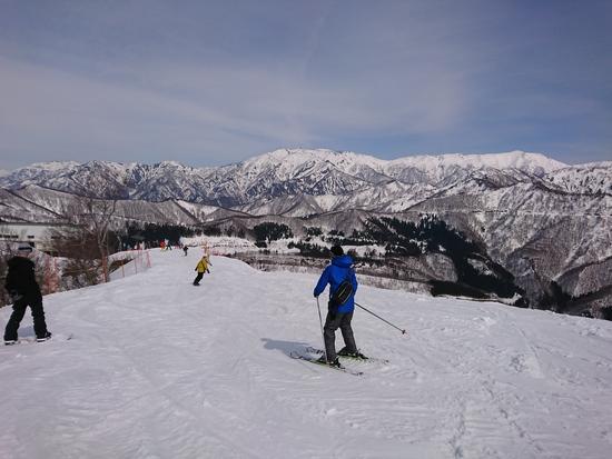 山頂まで|岩原スキー場のクチコミ画像