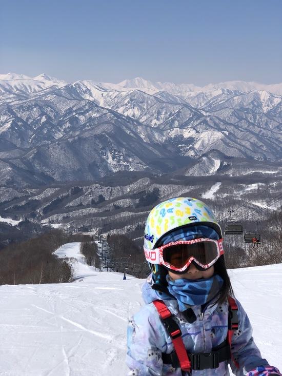 谷川岳連峰?とても綺麗でした|水上宝台樹スキー場のクチコミ画像
