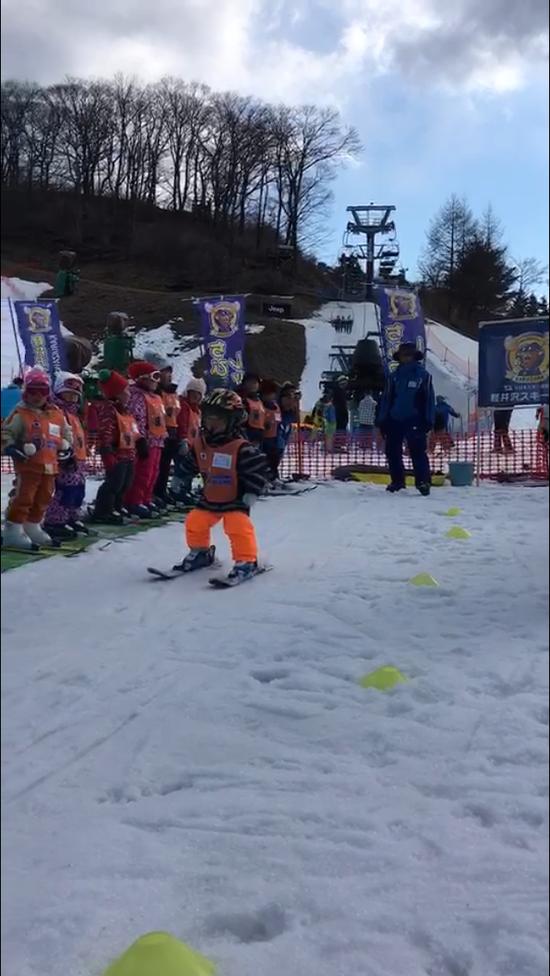 スキーデビュー!|軽井沢プリンスホテルスキー場のクチコミ画像