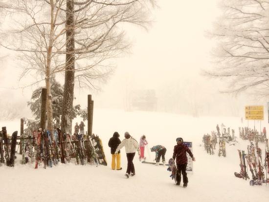 ゴンドラ上部のレストラン|野沢温泉スキー場のクチコミ画像