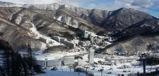 ギリギリで滑れるコースが増えた。|苗場スキー場のクチコミ画像