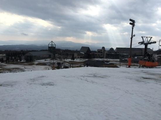 残念ながら雪が少なかったです|星野リゾート アルツ磐梯のクチコミ画像2