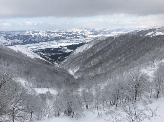 ゲレンデ広く感じました。|上越国際スキー場のクチコミ画像