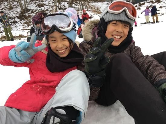 娘の誕生日☆|カムイみさかスキー場のクチコミ画像
