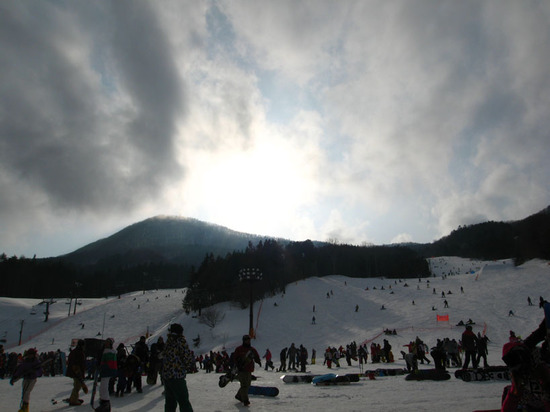混んでるね〜|ノルン水上スキー場のクチコミ画像