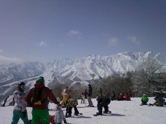 岩岳スキー場は景色がいい!|白馬岩岳スノーフィールドのクチコミ画像