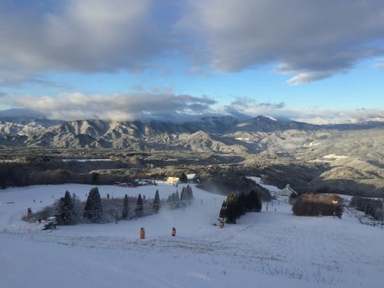 やっと雪が降った 鷲ヶ岳スキー場のクチコミ画像2