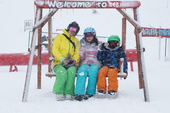 雪いっぱいー☆|かぐらスキー場のクチコミ画像