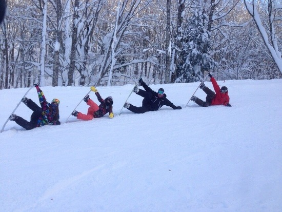 滑りやすい|白馬岩岳スノーフィールドのクチコミ画像2